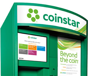 Image of Coinstar U.S. kiosk. Click to download image for media use.
