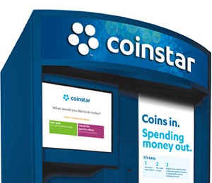 Image of Coinstar Ireland Euro Machine. Click to download image for media use.