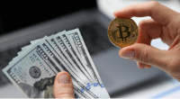 Holding cash and bitcoin token